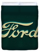 Ford Emblem Duvet Cover