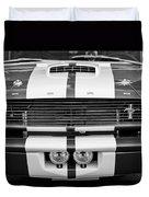 Ford Mustang Grille Emblem Duvet Cover