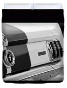 1966 Ford Shelby Mustang Gt 350 Taillight Duvet Cover