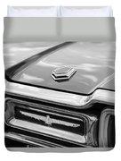 Ford Thunderbird Tail Lights Duvet Cover