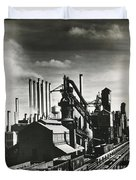 Ford's River Rouge Plant Duvet Cover