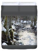 Forest Lights Duvet Cover