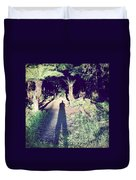Forest Shadow Duvet Cover by Les Cunliffe