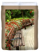 Formal Garden Duvet Cover