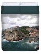 Fort Lovrijenac - Dubrovnik - Croatia Duvet Cover