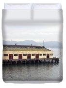 Fort Mason San Francisco Duvet Cover