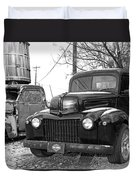 Forties Ford Pickup Duvet Cover