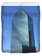 Fountain Place Building Duvet Cover