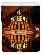 Four Queens 2 Duvet Cover