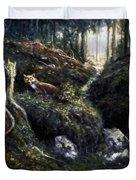 Fox In The Wood Duvet Cover