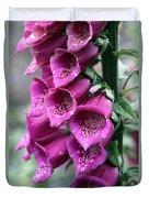 Foxglove Digitalis Spcial Duvet Cover