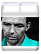 Frank Sinatra Art Duvet Cover