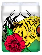 Freak Tiger  Duvet Cover