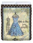 French Dress Shop-b1 Duvet Cover