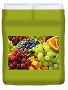Fresh Fruits Duvet Cover by Elena Elisseeva