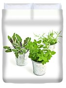 Fresh Herbs Duvet Cover