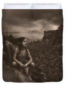 Friends Duvet Cover by Bob Orsillo