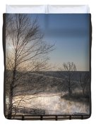 Frosty Sunrise Duvet Cover