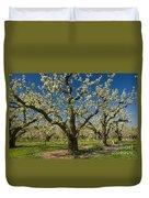 Fruit Orchard Duvet Cover