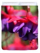 Fuchsia Named Dark Eyes Duvet Cover
