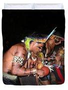 Fulnio Indians Of Brazil  Duvet Cover