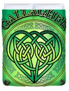 Gallagher Soul Of Ireland Duvet Cover