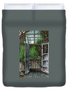 Garden Backyard Duvet Cover