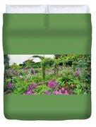 Garden Of Claude Monets House, Giverny Duvet Cover