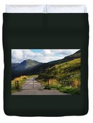 Gates. Rest And Be Thankful. Scotland Duvet Cover