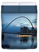 Gateshead Millennium Bridge Duvet Cover