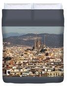 Gaudi La Sagrada Familia Barcelona  Duvet Cover