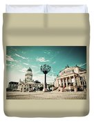Gendarmenmarkt In Berlin Germany Duvet Cover