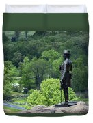 General Warren At Little Round Top Duvet Cover