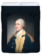 George Washington By Rembrandt Peale Duvet Cover