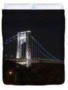 George Washington Bridge - Memorial Day 2013 Duvet Cover