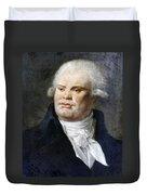 Georges-jacques Danton (1759-1794) Duvet Cover