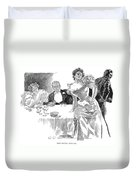 Gibson: Dinner Party Duvet Cover