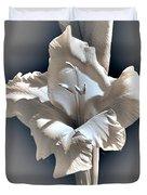 Gladiolus Named Nova Lux Duvet Cover