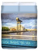 Glasgow Belongs To Us Duvet Cover