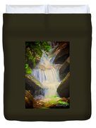 Glen Iris Waterfall Duvet Cover