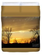 Golden Sunset 61 Duvet Cover
