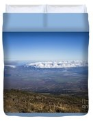 Good Morning Maui Duvet Cover