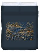 Granada And The Alhambra Duvet Cover