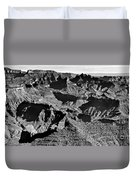 Grand Canyon Navajo Point Panorama At Sunrise  Duvet Cover