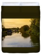 Grand Union Canal In Berkhampsted Duvet Cover