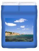Granite Island South Australia Duvet Cover