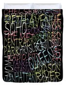 Graphic New York 3 Duvet Cover