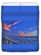 Great Highway Sunset Duvet Cover
