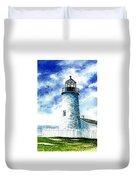 Great Lakes Light II Duvet Cover