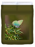 Green Hairstreak Duvet Cover